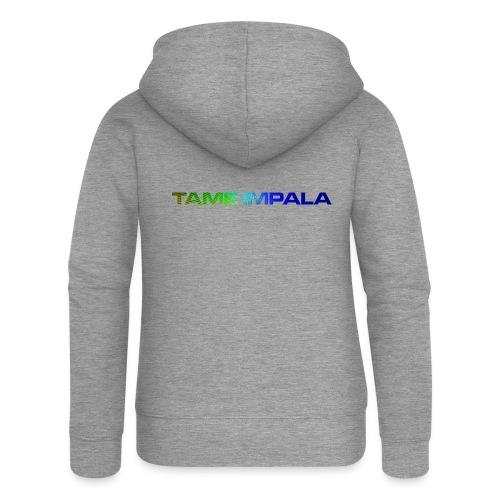 tameimpalabrand - Felpa con zip premium da donna
