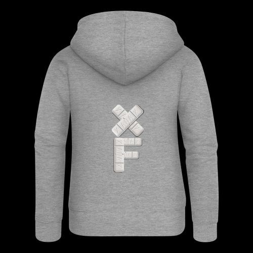 XF Xanax Logo - Frauen Premium Kapuzenjacke