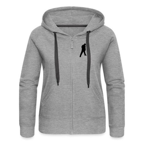 Soops B-Boy Tee - Women's Premium Hooded Jacket