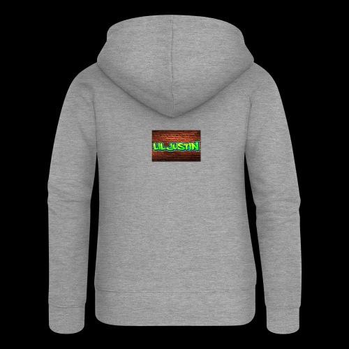 Lil Justin - Women's Premium Hooded Jacket