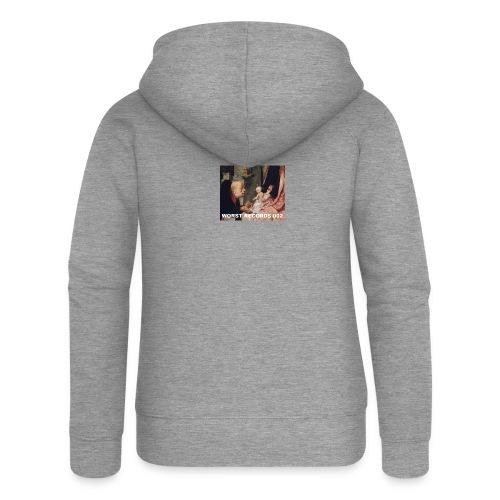 Worst Records 002 - Women's Premium Hooded Jacket