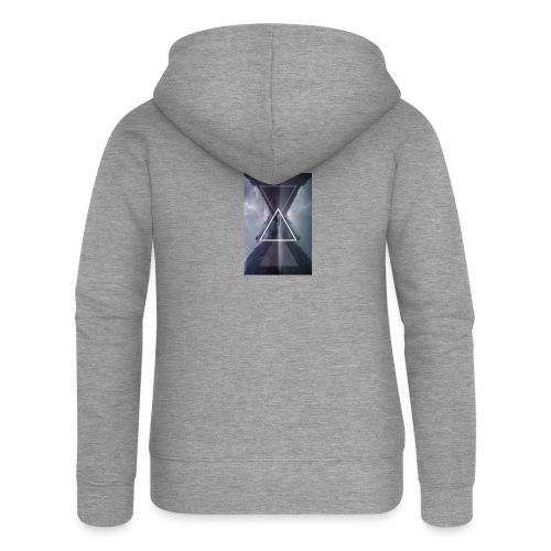 SHAPE - Rozpinana bluza damska z kapturem Premium