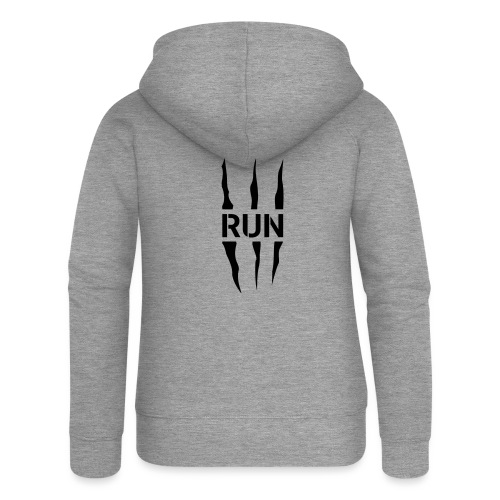Run Scratch - Veste à capuche Premium Femme