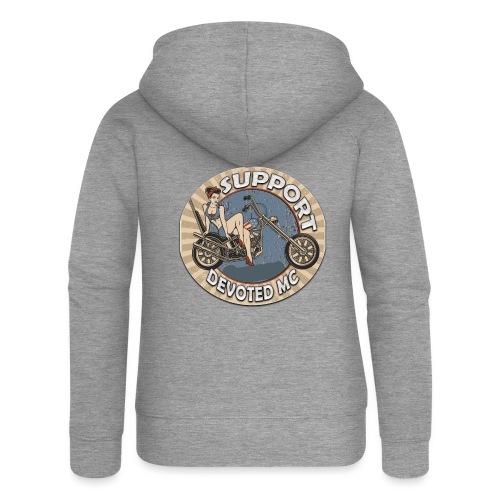 T-Shirt DEVOTEDMC PINUP CAPTAIN - Premium hettejakke for kvinner