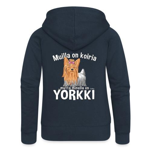 Yorkki Koiria - Naisten Girlie svetaritakki premium