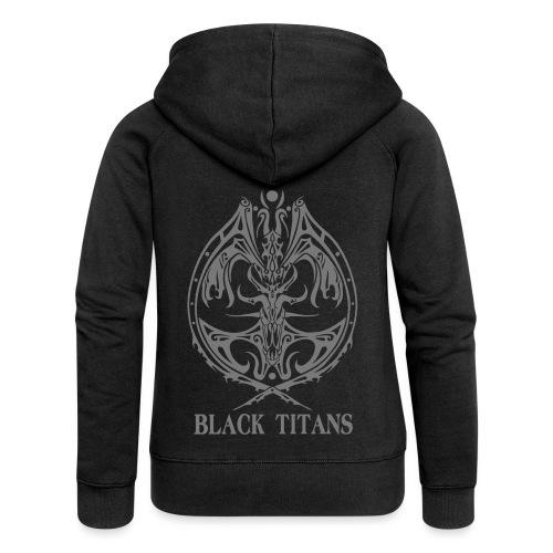 Black Titans - Women's Premium Hooded Jacket