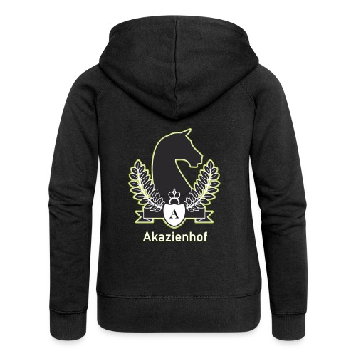 Akazienhof - Frauen Premium Kapuzenjacke