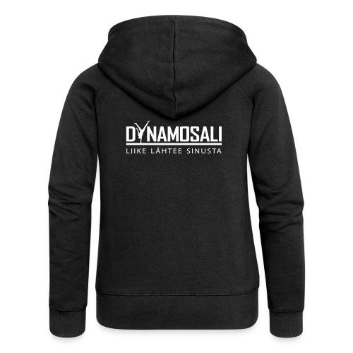 DynamoSali valkoinen - Naisten Girlie svetaritakki premium