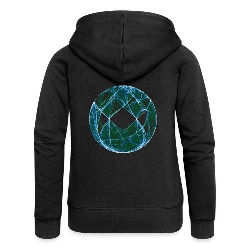 Harmony in the Ocean of Elements 446oce - Women's Premium Hooded Jacket