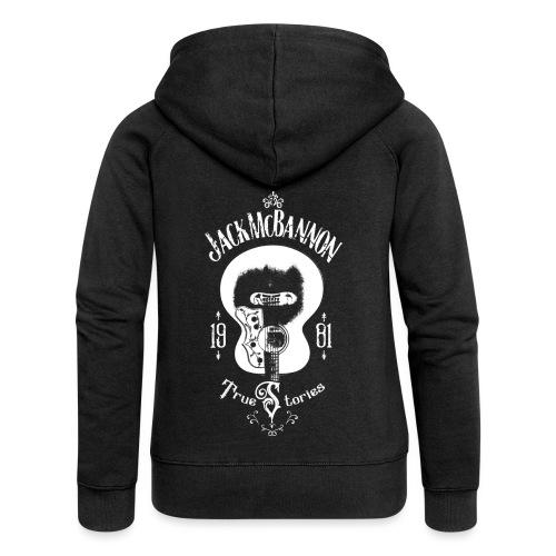 Jack McBannon - Guitar (True Stories) - Frauen Premium Kapuzenjacke