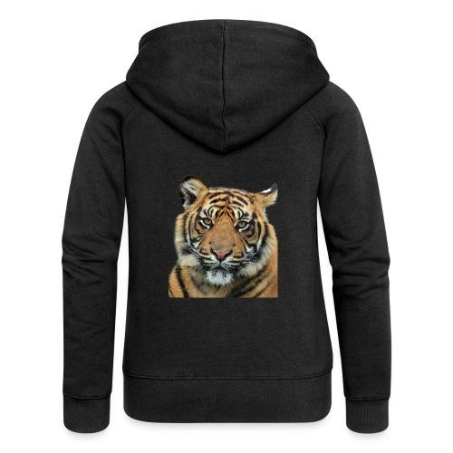 tiger 714380 - Felpa con zip premium da donna