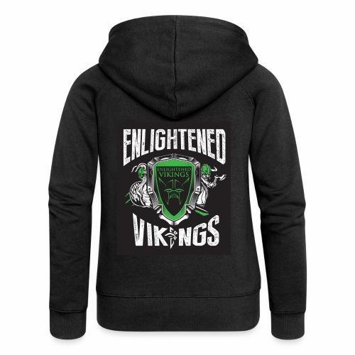 Enlightend Vikings - Premium hettejakke for kvinner