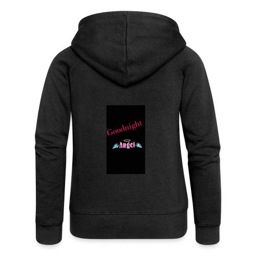 goodnight Angel Snapchat - Women's Premium Hooded Jacket