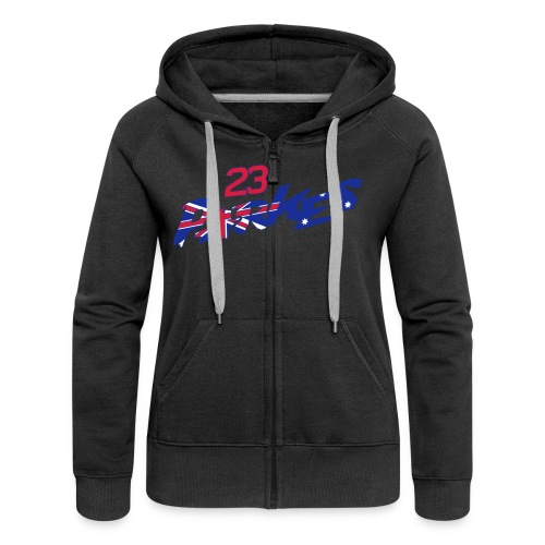 Parkes 23 Logo Refix - Women's Premium Hooded Jacket