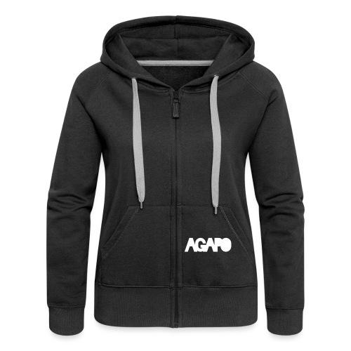 agapo style - Frauen Premium Kapuzenjacke
