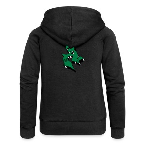 Colored Graffiti 3D Block Letter A 2 - Frauen Premium Kapuzenjacke