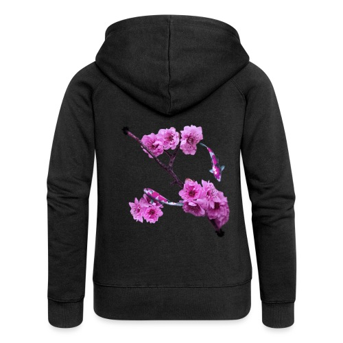 Flower Back - Premium luvjacka dam