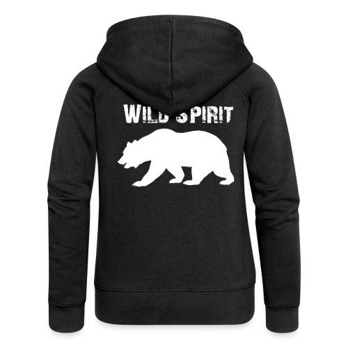 Wild Spirit - Bear - Vrouwenjack met capuchon Premium