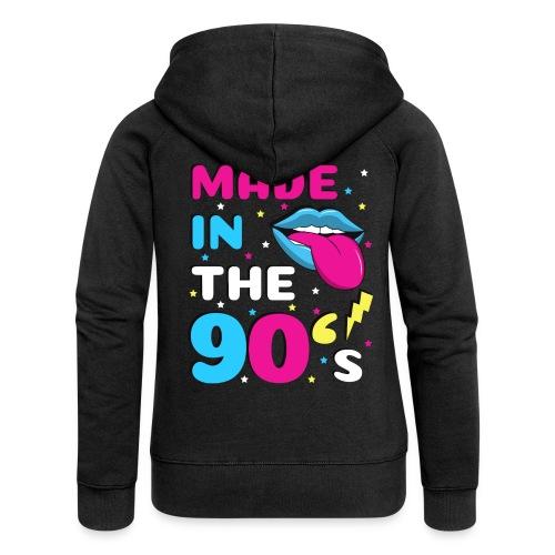90er Jahre Party Feiern Mottoparty 90s - Frauen Premium Kapuzenjacke