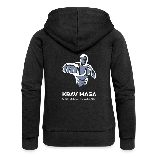 Krav Maga Trainingsshirt - Frauen Premium Kapuzenjacke