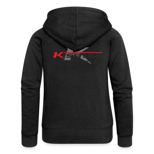 Kisa Logos 3 - Frauen Premium Kapuzenjacke