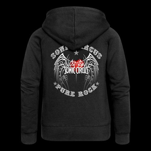SONIC CIRCUS Pure Rock - Frauen Premium Kapuzenjacke