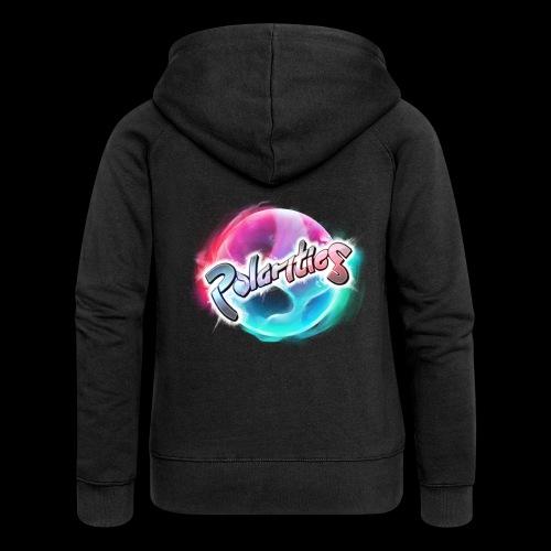 Polarities Logo - Women's Premium Hooded Jacket