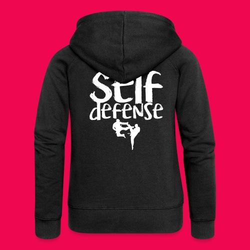 Self Defense 1.0 - Frauen Premium Kapuzenjacke