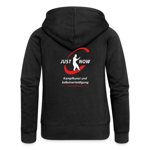JustKnow - Kampfkunst und Selbstverteidigung - Frauen Premium Kapuzenjacke