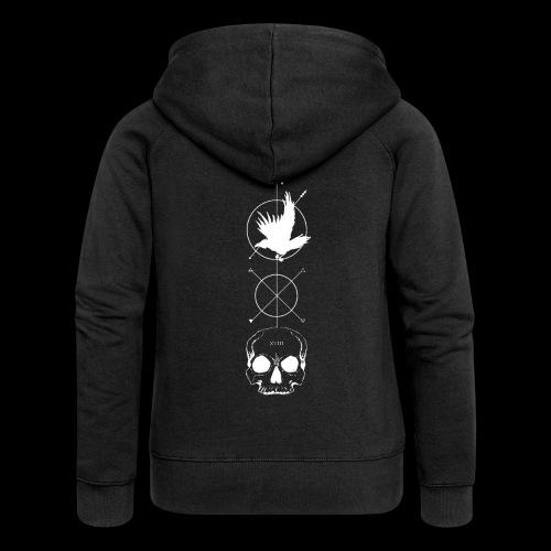 DEATH - REBIRTH - Women's Premium Hooded Jacket