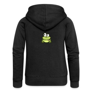 Frog Tshirt - Women's Premium Hooded Jacket