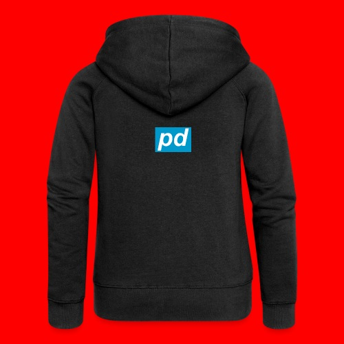 pd Blue - Dame Premium hættejakke
