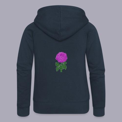 Landryn Design - Pink rose - Women's Premium Hooded Jacket