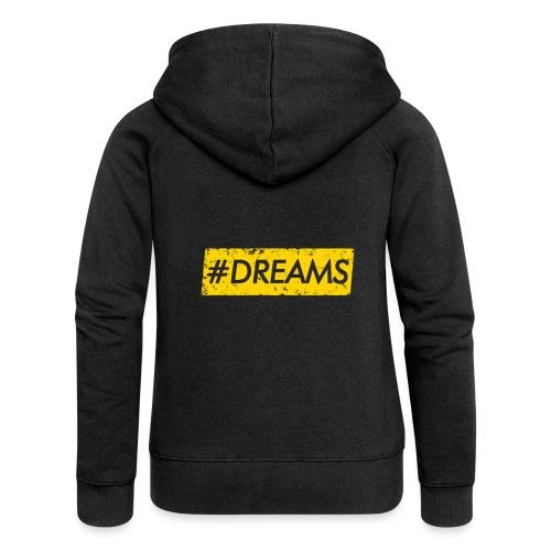 ♦EDITION LIMITE♦ DREAMS - Veste à capuche Premium Femme
