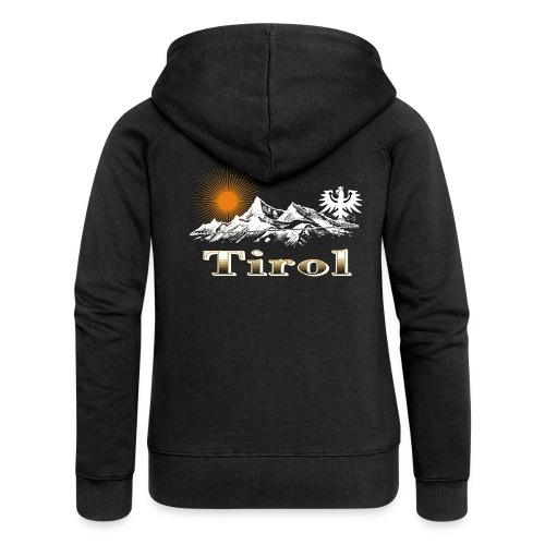 Tiroler Berge - Frauen Premium Kapuzenjacke