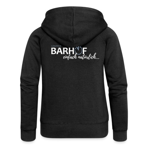 Barhuf_01_PFAD - Frauen Premium Kapuzenjacke