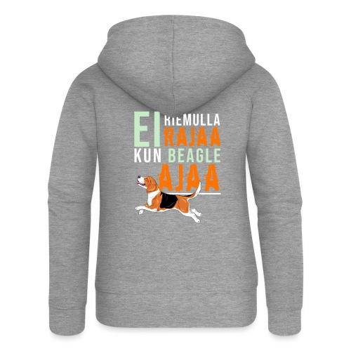 Riemulla Rajaa Beagle - Naisten Girlie svetaritakki premium