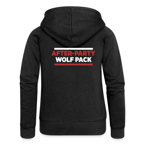 OFFICIAL AFTER-PARTY WOLFPACK MERCH - Women's Premium Hooded Jacket