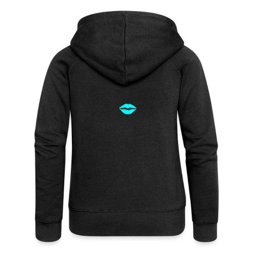 Blue kiss - Women's Premium Hooded Jacket