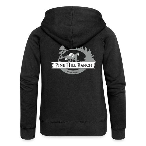 PINE hill Ranch6 - Frauen Premium Kapuzenjacke