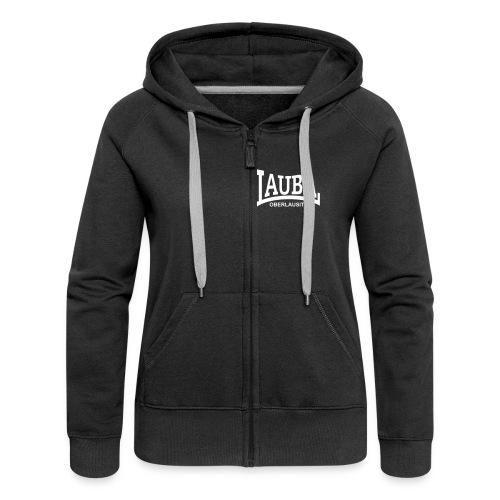 Lauba Logo - Frauen Premium Kapuzenjacke