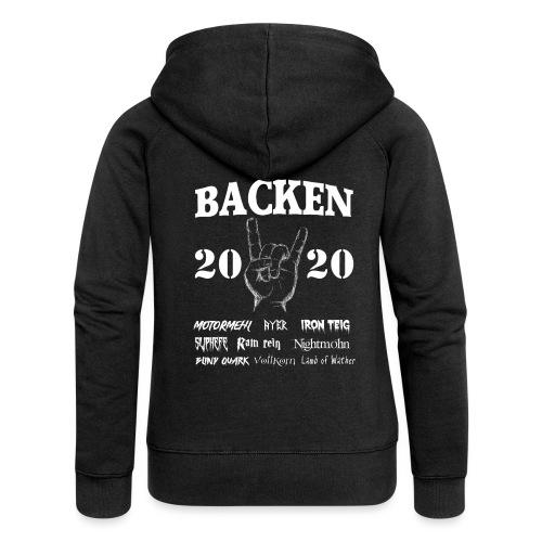 Backen 2020 | Lustiges Backen mit den größten - Frauen Premium Kapuzenjacke