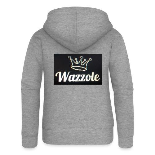 Wazzole crown range - Women's Premium Hooded Jacket
