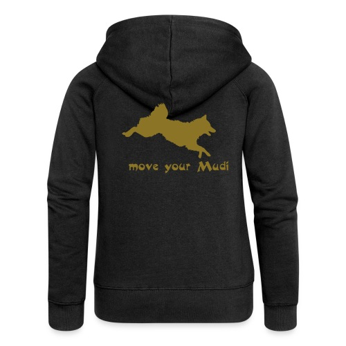 move your mudi - Women's Premium Hooded Jacket