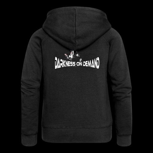 DoD Darkness on Demand Cat - Frauen Premium Kapuzenjacke
