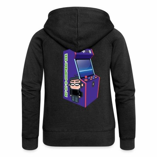 Game Booth Arcade Logo - Women's Premium Hooded Jacket