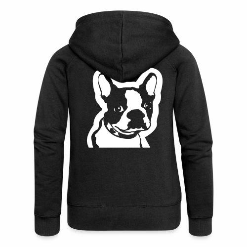 Bulldog francés - Chaqueta con capucha premium mujer