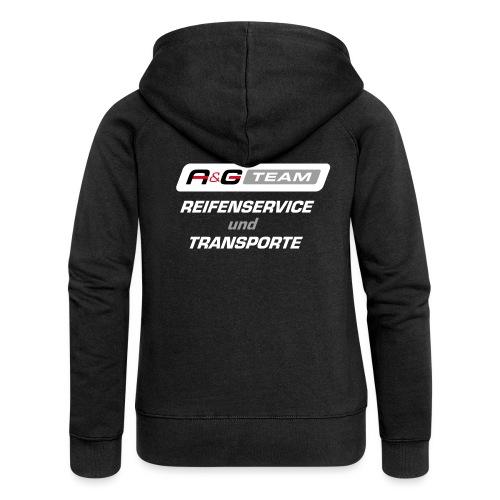A&G Reifenservice farbig - Frauen Premium Kapuzenjacke