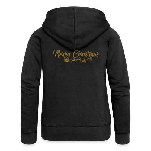 Merry Christmas - Vrouwenjack met capuchon Premium
