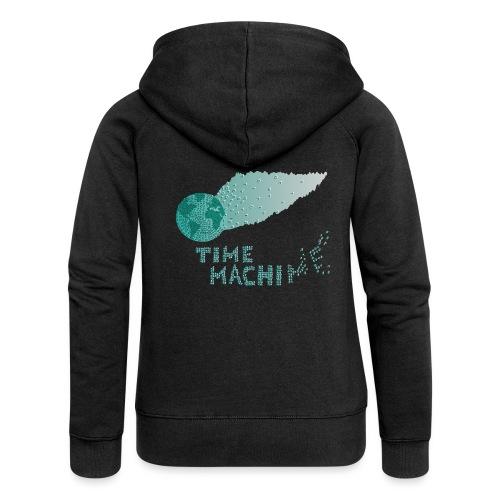 Time Machine - Frauen Premium Kapuzenjacke